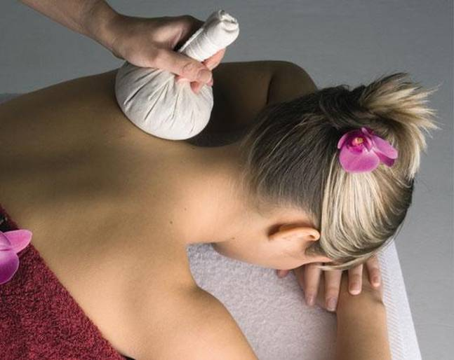 Cardiff spa Herbal Compress treatment