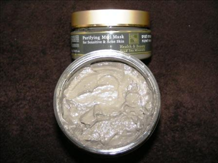 Cardiff Dead Sea Mud Facial Mask for acnes and eczema